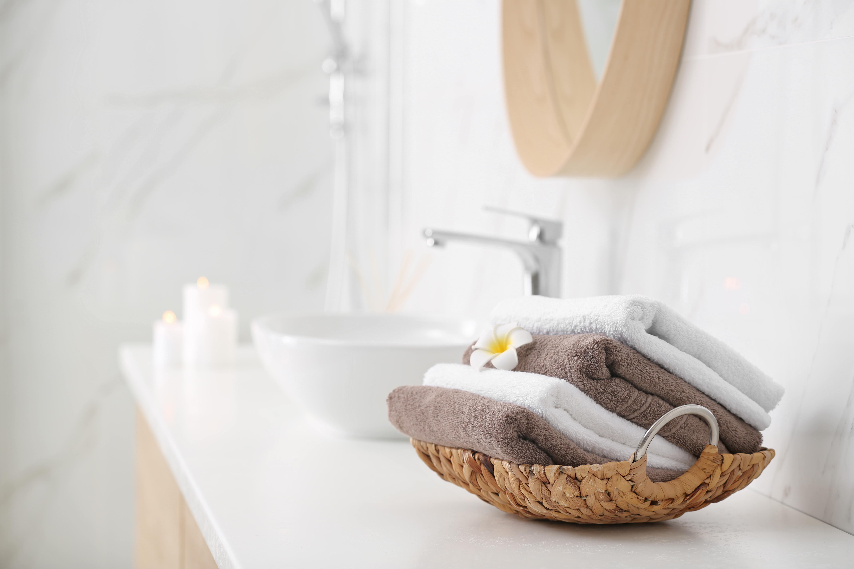 Standard Overhang On A Bathroom Counter Hunker