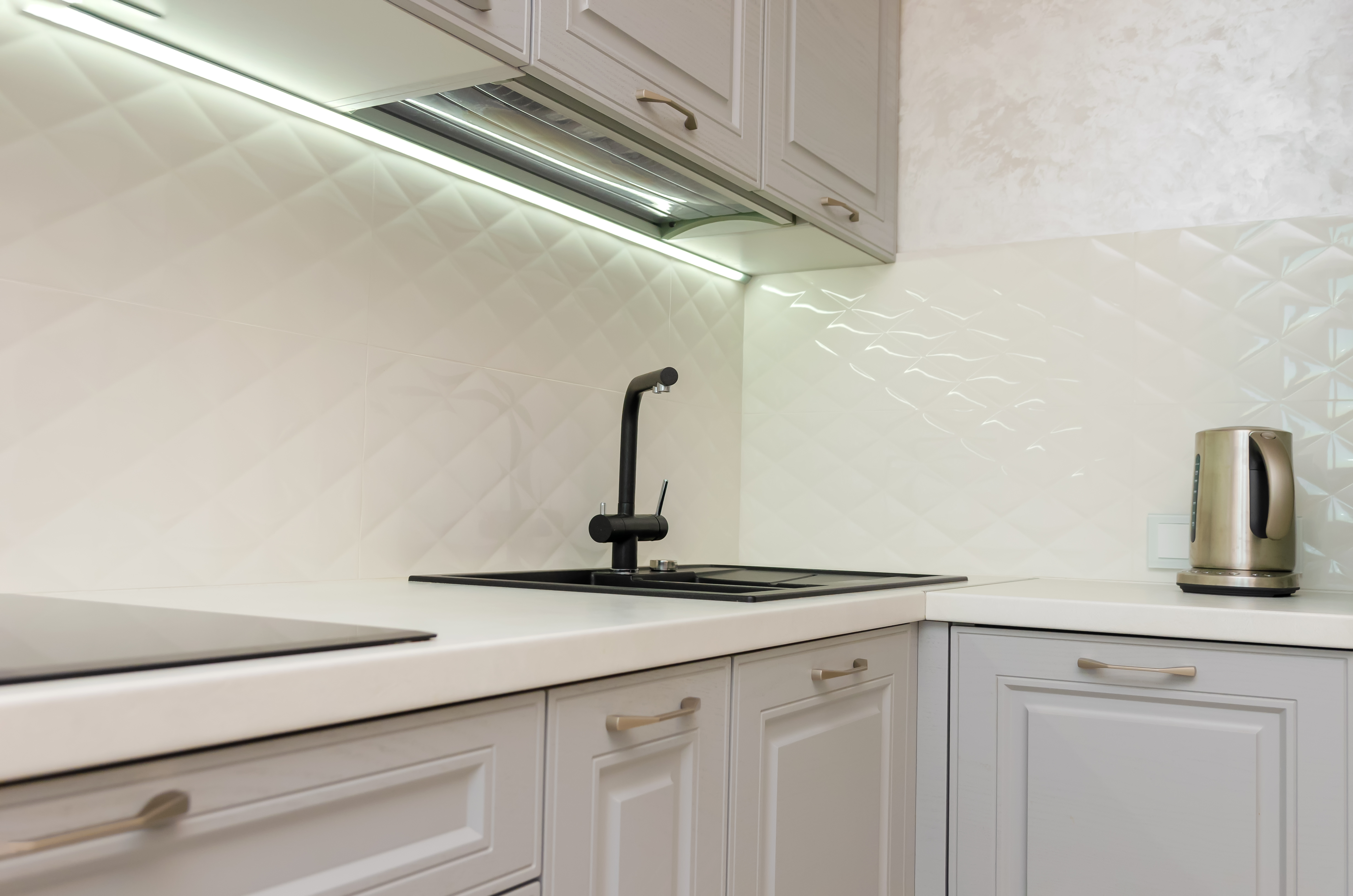 How to Replace Kitchen Tiles Without Removing Cabinets   Hunker